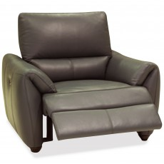 Specola Manual Reclining Armchair Leather Category 20