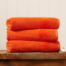 Christy Prism Towel Orange