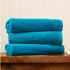 Christy Prism Hand Towel Poolside Blue