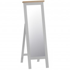 Tilly Cheval Mirror Grey