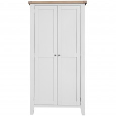 Tilly Double Wardrobe White