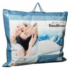 Quilts of Denmark DanaDream Classic Medium Duck Feather & Down Pillow