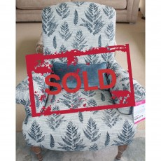 Liberty Accent Chair Fabric (Available in Galway) WAS €949 NOW €499