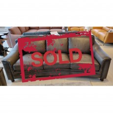 Shakespeare 4 Seater Sofa Vintage Leather SOLD