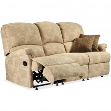 Sherborne Nevada Small Electric Reclining 3 Seater Sofa Leather Grade 1