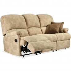 Sherborne Nevada Standard Electric Reclining 3 Seater Sofa Leather Grade 1