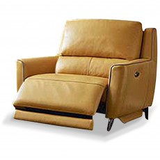 Pavel Electric Reclining Armchair With USB Leather Category 20