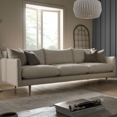 Elise 4+ Seater Sofa Fabric D