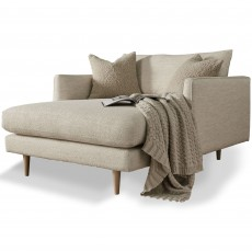 Elise Snuggler With Chaise Fabric D