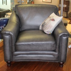Shakespeare Armchair Vintage Leather (Available in Galway) WAS €1,549 NOW €699