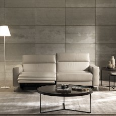Natuzzi Editions Uffizi Electric Reclining 2 Seater Sofa Leather Category 15