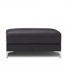 Natuzzi Editions Uffizi Large Footstool Leather Category 15