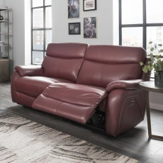 La-Z-boy Kendra Electric Reclining 2 Seater Sofa With Adjustable Headrest & USB Mezzo Leather
