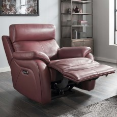 La-Z-boy Kendra Electric Reclining Armchair With Adjustable Headrest & USB Mezzo Leather