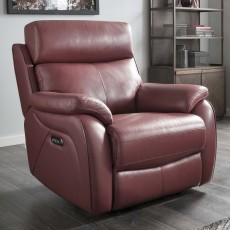 La-Z-boy Kendra Manual Reclining Armchair Mezzo Leather