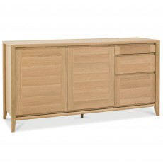 Canneto Oak Wide Sideboard