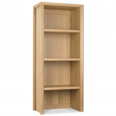 Canneto Oak Narrow Top Display Unit
