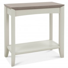 Canneto Grey Washed Oak & Soft Grey Side/Lamp Table