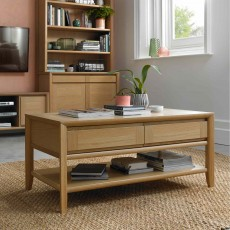 Canneto Oak Coffee Table