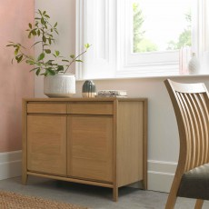 Canneto Oak Narrow Sideboard