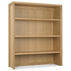 Canneto Oak Wide Top Display Unit
