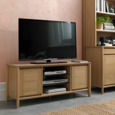Canneto Oak TV/HIFI Unit