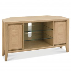 Canneto Corner TV/HI-FI Unit Oak