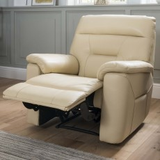 La-Z-Boy Greta Electric Reclining Armchair With USB Mezzo Leather