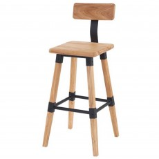 Hunter Bar Stool Elm Natural