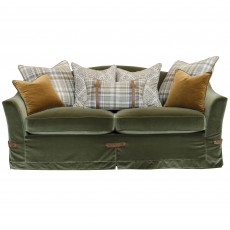 Alexander & James Philosopher 3 Seater Scatter Back Sofa Fabric Option 1