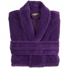 Christy Cosy Robe Small/Medium Large Crushed Grape