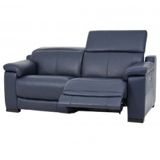 Riccardo 2 Seater Sofa With Electric Recliner & USB Fabric
