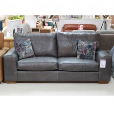 Charley 4 Seater Sofa Leather (Available in Kilkenny) WAS €2,695 NOW €1,699