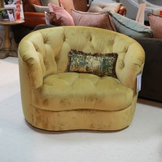 Alexander & James Jean Twister Armchair Fabric (Available in Galway) WAS €1,015 NOW €499
