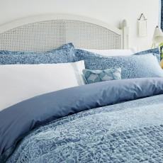 Helena Springfield Sylvie Super King Duvet Cover Blue