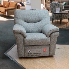 G Plan Washington Electric Recliner Fabric (Available in Kilkenny) WAS €2,195 NOW €899