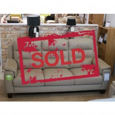 Sapporo 3 Seater Sofa Leather SOLD