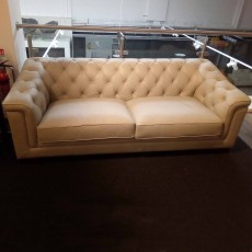 Calabria 3 Seater Sofa Leather (Available in Galway) WAS €2,445 NOW €1,599