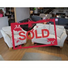 Jessica 2 Seater + Armchair Fabric SOLD