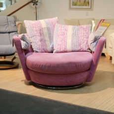 Fama My Nest Swivel Chair Fabric (Available in Kilkenny) WAS €1,169 NOW €799