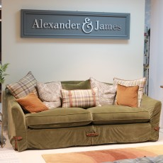 Alexander & James Philosopher 4 Seater Fabric (Available in Galway) WAS €3,179 NOW €1,799