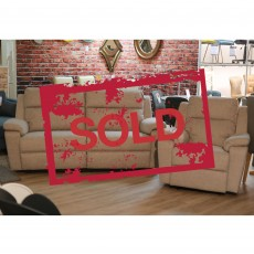 Houston Manual Reclining 3 Seater Sofa & Armchair SOLD