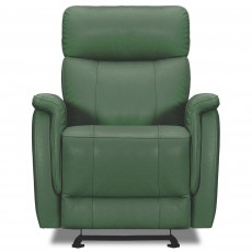 Tiber Electric Reclining Armchair Leather Category 15(S) Forest Green