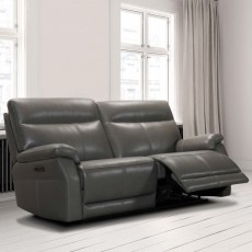 Salvatore Electric Reclining 2 Seater Sofa Leather Category 15(S)