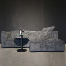 Elementa 4+ Fabric Corner Sofa Charcoal (Available in Galway & Kilkenny) WAS €1,989 NOW €899