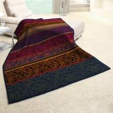 Biederlack Damask 150cm x 200cm Throw Multi Coloured