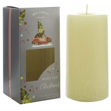 Wax Lyrical Home For Christmas 7.5cm x 15cm Pillar Candle