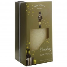 Wax Lyrical Cracking Christmas 7.5cm x 15cm Pillar Candle