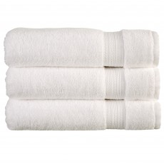 Tempo Bath Towel White