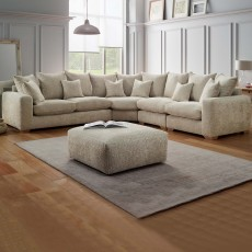 Chianti 3 Seater Standard Back Sofa Fabric C